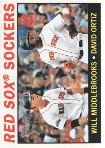 Photo of 2013 Topps Heritage #155 Will Middlebrooks/David Ortiz