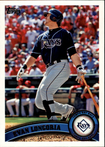 Photo of 2011 Topps #340 Evan Longoria