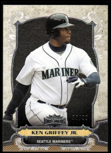 Photo of 2014 Topps Triple Threads Gold #100 Ken Griffey Jr.