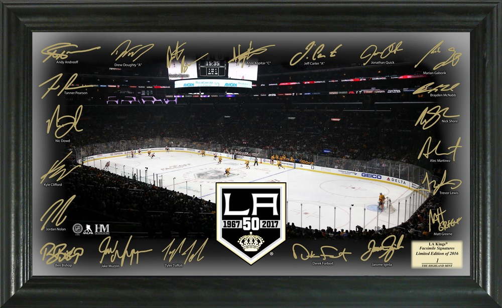 Serial #1 Los Angeles Kings Signature Rink
