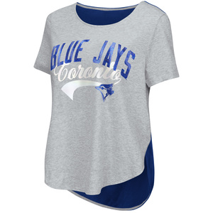 Toronto Blue Jays Women's Shine On Rookie Tee by Touch
