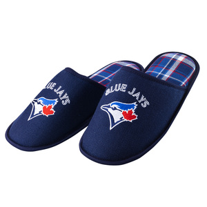 Toronto Blue Jays Adult Loafer Slippers Navy by Gertex