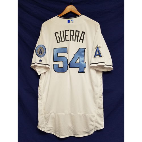 Photo of Deolis Guerra Team-Issued Blue Fathers Day Jersey