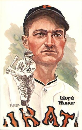 Photo of 1980-02 Perez-Steele Hall of Fame Postcards #107 Lloyd Waner -- Set #08689
