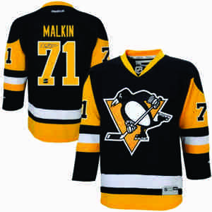 Evgeni Malkin - Signed Pittsburgh Penguins 2014 Black & Gold Replica 3rd Jersey