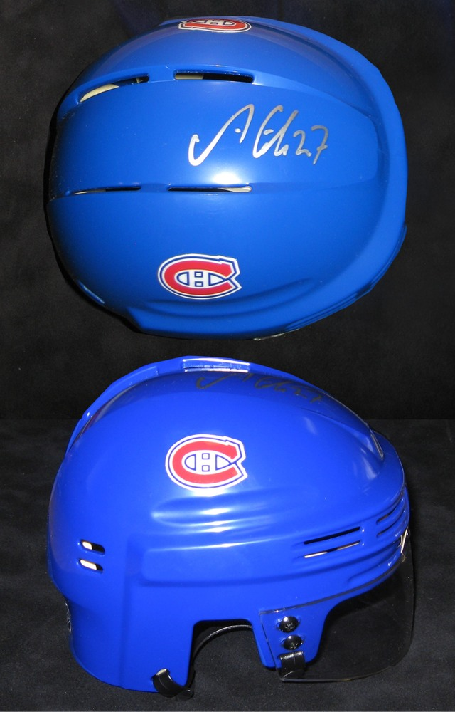 Alex Galchenyuk - Signed Mini Helmet Montreal Canadiens