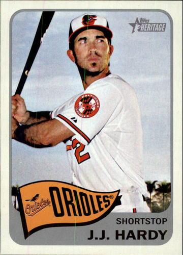 Photo of 2014 Topps Heritage #410 J.J. Hardy