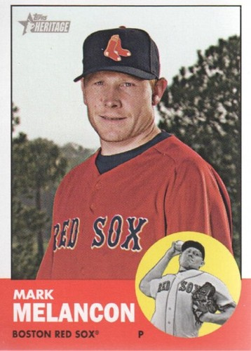 Photo of 2012 Topps Heritage #24 Mark Melancon