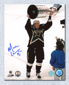 Mike Keane Dallas Stars Autographed 1999 Stanley Cup 8x10 Photo