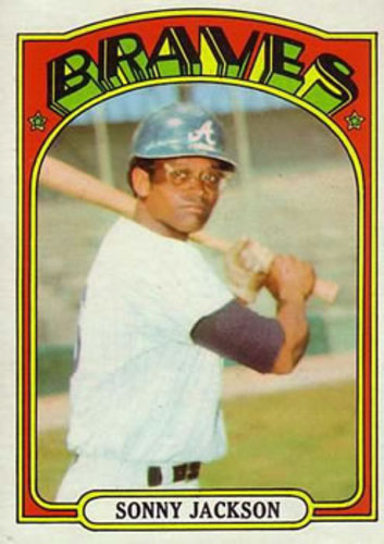 Photo of 1972 Topps #318 Sonny Jackson
