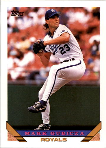 Photo of 1993 Topps #674 Mark Gubicza
