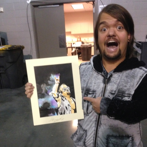 Hornswoggle Signed Painting by Rob Schamberger