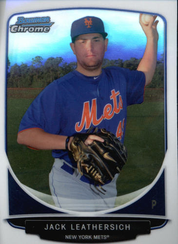Photo of 2013 Bowman Chrome Prospects #BCP116 Jack Leathersich
