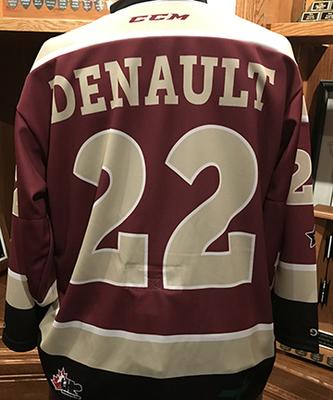 Chad Denault (#22) - Game-Worn Petes Alumni Homecoming Jersey