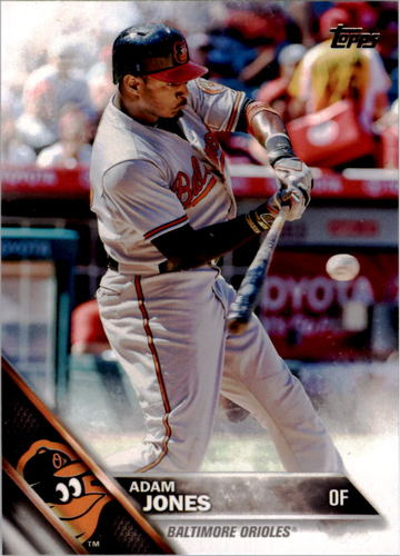 Photo of 2016 Topps #201 Adam Jones