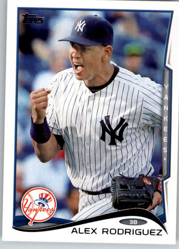 Photo of 2014 Topps #168 Alex Rodriguez