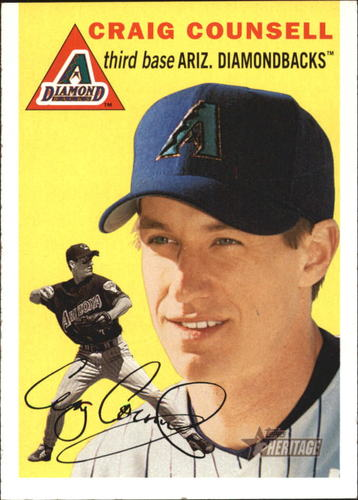 Photo of 2003 Topps Heritage #98 Craig Counsell