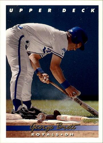 Photo of 1993 Upper Deck #56 George Brett