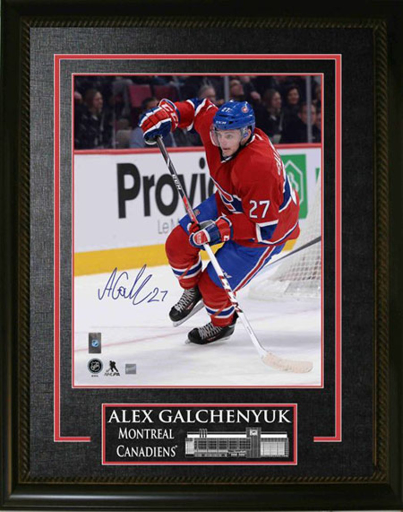 Signed Framed Alex Galchenyuk 8x10