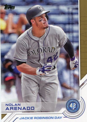 Photo of 2017 Topps Jackie Robinson Day #JRD28 Nolan Arenado