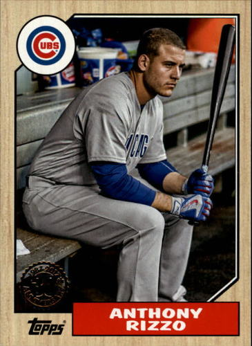 Photo of 2017 Topps '87 Topps #8717 Anthony Rizzo