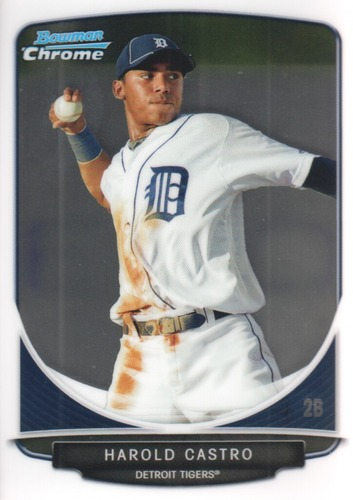 Photo of 2013 Bowman Chrome Prospects #BCP126 Harold Castro