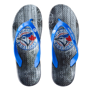 Toronto Blue Jays Men's Flip Flops Royal/Black by Gertex