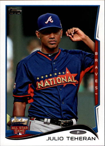 Photo of 2014 Topps Update #US199 Julio Teheran