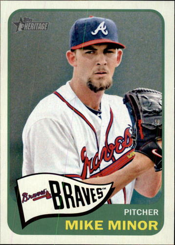 Photo of 2014 Topps Heritage #411 Mike Minor