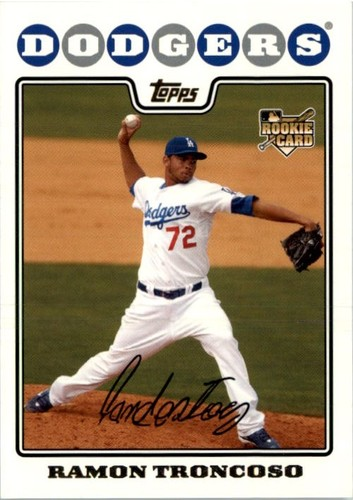 Photo of 2008 Topps #563 Ramon Troncoso RC