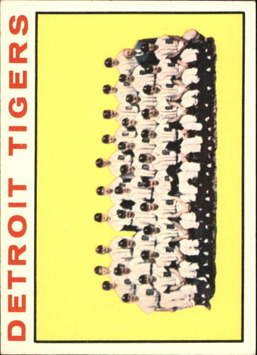 Photo of 1964 Topps #67 Detroit Tigers TC