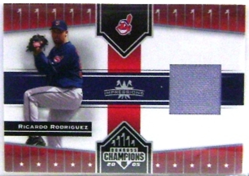 Photo of 2005 Donruss Champions Impressions Material #149 R.Rod Indians Pants T2
