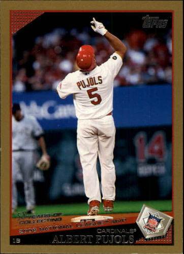 Photo of 2009 Topps Gold Border #217 Albert Pujols