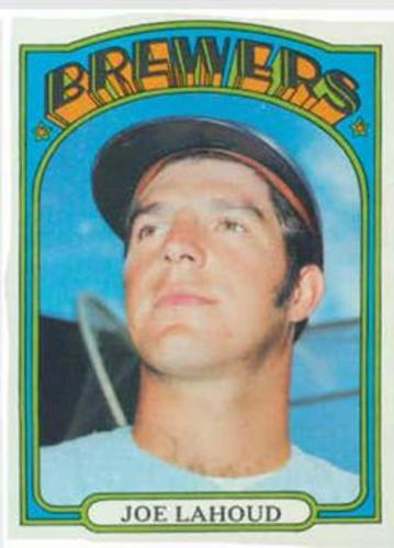 Photo of 1972 Topps #321 Joe Lahoud