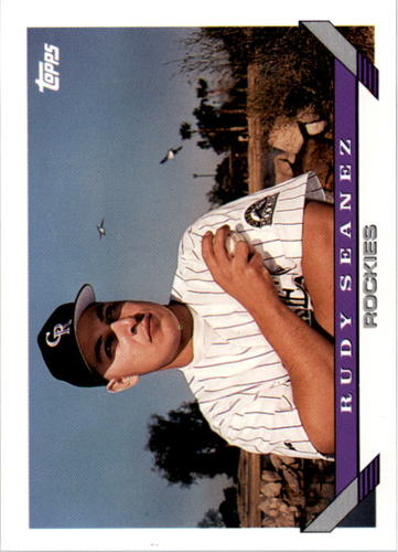 Photo of 1993 Topps #676 Rudy Seanez