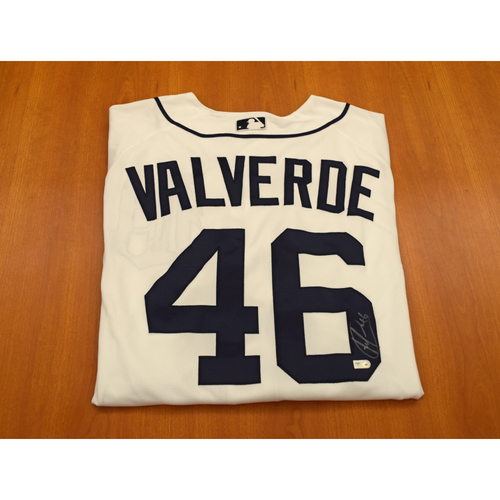 Photo of Jose Valverde Autographed Detroit Tigers Jersey (MLB Authentic)