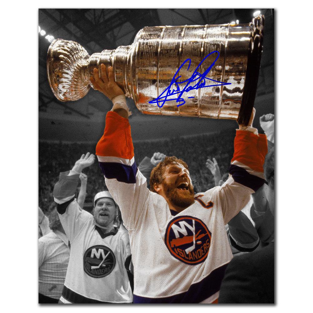 Denis Potvin New York Islanders SPOTLIGHT Autographed 8x10