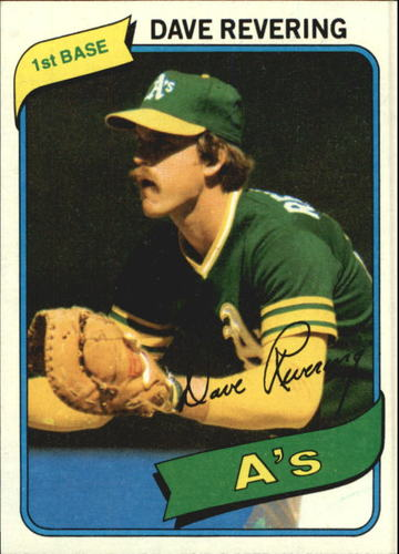 Photo of 1980 Topps #438 Dave Revering