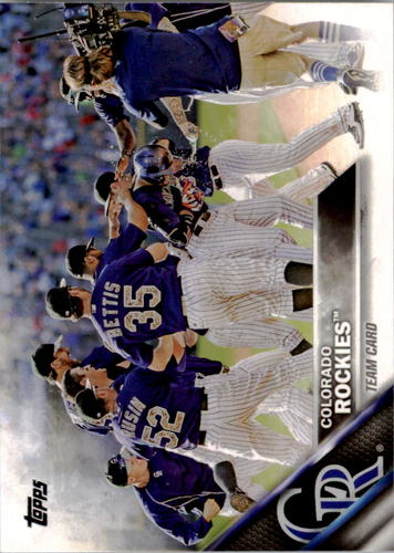 Photo of 2016 Topps #202 Colorado Rockies