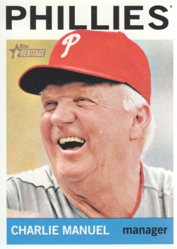 Photo of 2013 Topps Heritage #157 Charlie Manuel