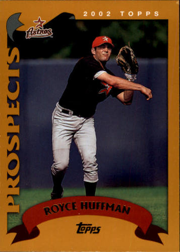 Photo of 2002 Topps #678 Royce Huffman PROS RC