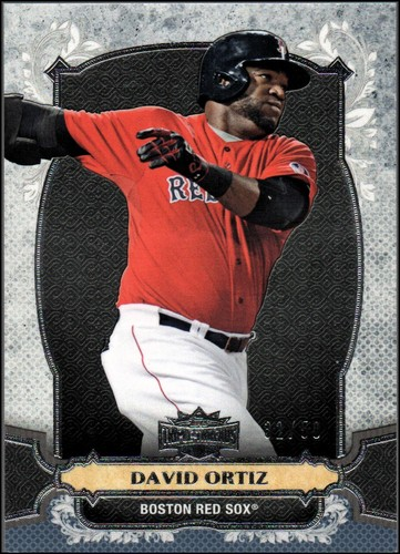 Photo of 2014 Topps Triple Threads Onyx #91 David Ortiz