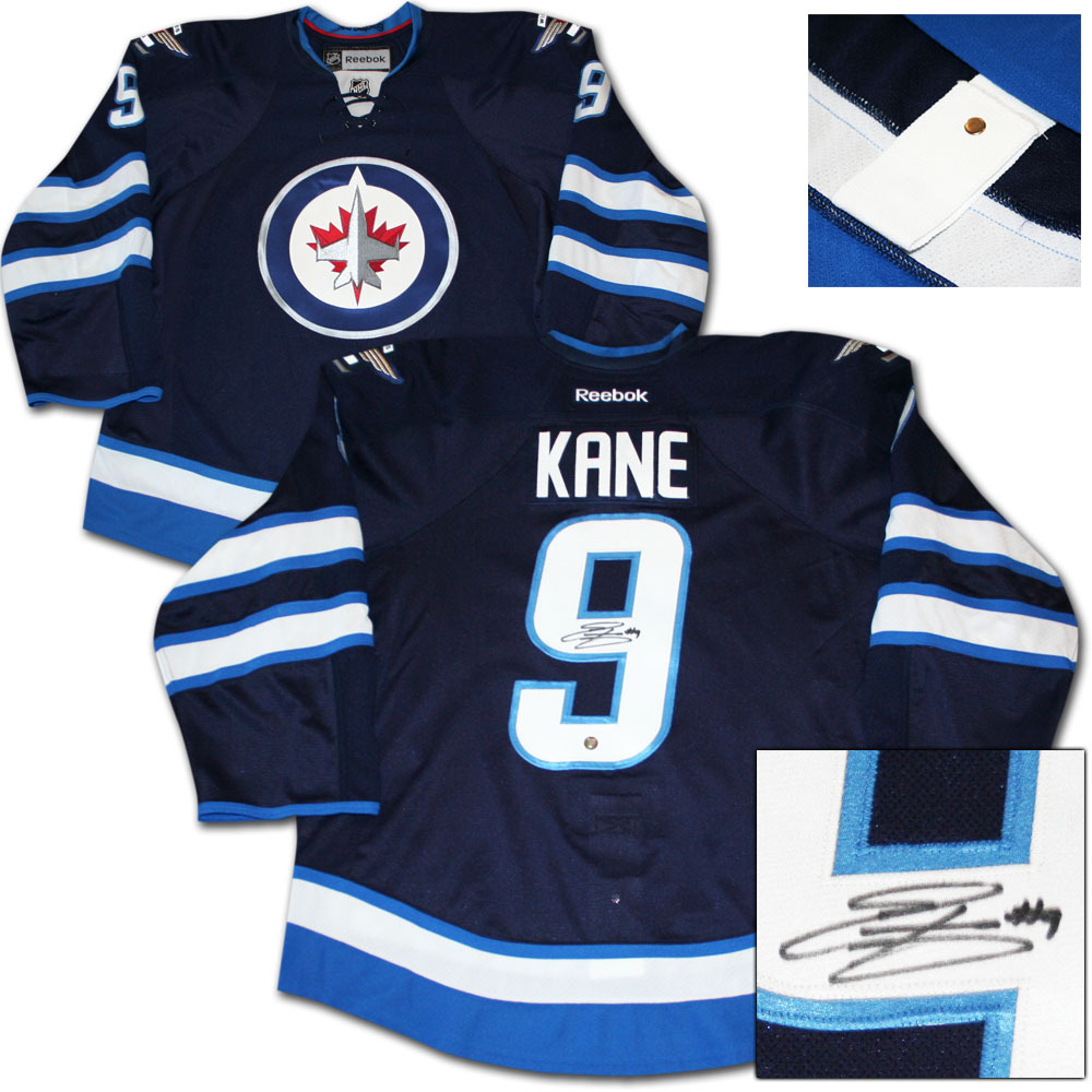 Evander Kane Autographed Winnipeg Jets Authentic Pro Jersey