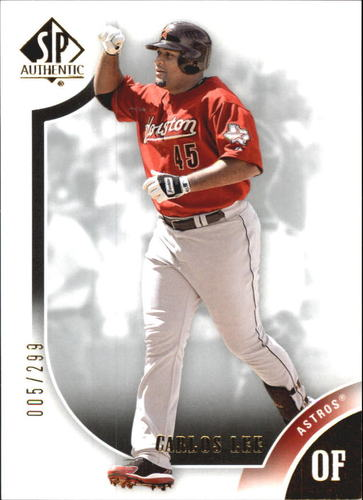 Photo of 2009 SP Authentic Gold #45 Carlos Lee