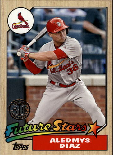 Photo of 2017 Topps '87 Topps #46 Aledmys Diaz