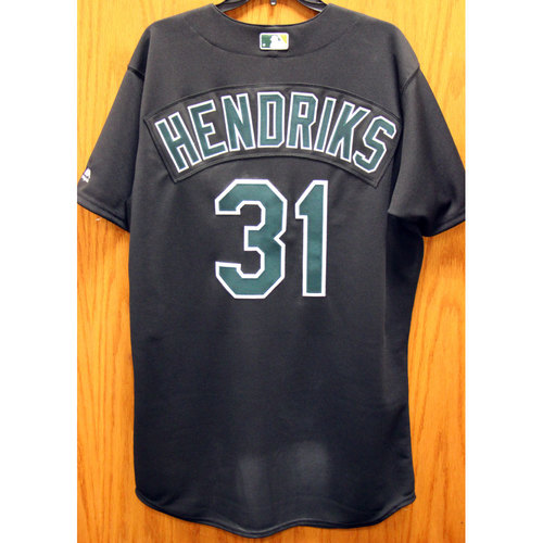 Photo of Liam Hendriks Game-Used 2002 TBTC Jersey