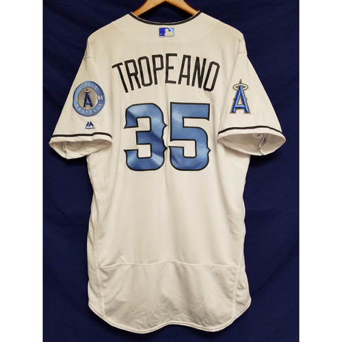 Photo of Nick Tropeano Team-Issued Blue Fathers Day Jersey
