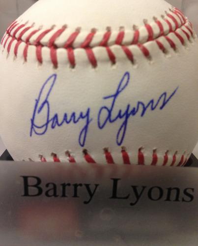 Photo of Baseball Assistance Team: Barry Lyons Autographed Baseball