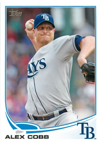 Photo of 2013 Topps #53 Alex Cobb