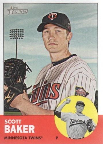 Photo of 2012 Topps Heritage #26 Scott Baker
